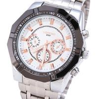 Recommend The Latest Hot Fashion Jewelry Brands Promotional Men's Casual Luxury Sports Waterproof Steel Quartz Watch LONGBO