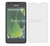 new 3pcs/lot flim High quality Transparent LCD Screen Protector for Philips xenium W8555 cellphone film Free Shipping wholesale