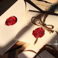 Vintage envelope green Paper Ivory blank envelopes diy gilt decorated Business specialty 100 pcs/lot