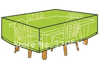 PE Furniture Cover Size:95x95x90cm,Outdoor Table PE Cover , Outdoor Protective Cover for Garden Furniture