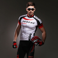 2014 New mountain bike riding clothes suits short-sleeve  summer Men sitair clothes breathable quick-drying sport suit