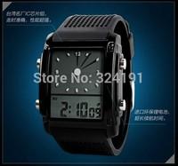 LCD colorful background fashion wrist watch , hot sale 30 m waterproof lovers  wrist watch
