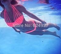 2014 Dropshipping! New Sexy Ladies Swimwear Bikini Set Fashion Bandeau Swimsuits Bathing Suits 1453