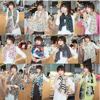 Promotion Chiffon Fashion   Scarf, Stole, Shawl, wrap, Long size Cape for women / girl, Mini Order US$5,  Free Shipping