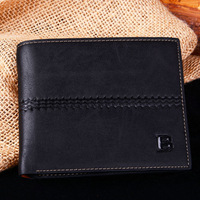 Free Shipping leather wallet business casual male restoring ancient ways is multi-functional brief paragraph men wallet