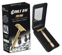 K gold plating quality goods manual razor razor Classic old double-sided blade rest manually