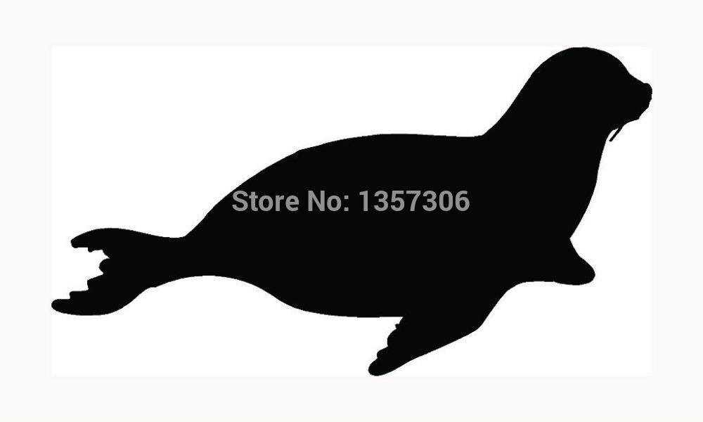 Seal Sticker Car Window Graphic Vinyl Decal(China (Mainland))