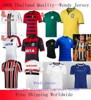 A+++ Thailand Atletico Mineiro Palmeiras Camisa Soccer Jersey Recife Sao Paulo Cruzeiro 14 15 Flamengo Brazil Kit Futbol Shirt