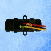 USN-HS21TD 3-18V Hall Flow Sensor 1-20L/min Male-Male Design