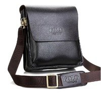 New 2014 fashion men bags, men genuine leather messenger bag, free shipping, Lowest whole network
