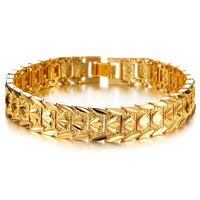 2014 Newest arrival hot sale 18K gold plated Crown bracelet for men and women N395