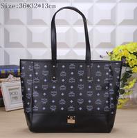 2014 new popular temperament retro handbag shoulder mc bag handbags Korean star printing the same paragraph m028