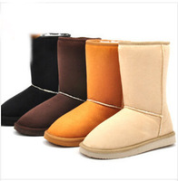 size 35-40 new 2014 fashion warm women flats snow women boots and autumn winter women shoes