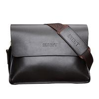 Genuine Leather Men Messenger Bags Vintage Men's Briefcase Travel Bags Casual Shoulder Messenger Bag 2014 New Free Shipping