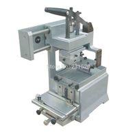 Manual Pad Printer Printing Machine + rubber pads + customized plate die kits combo
