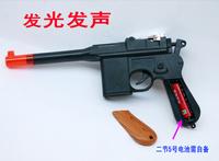 Toy pistol gun luminous  vocalization toy gun