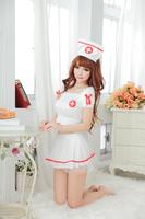 Wholesell and Retail  QH7100 Japanese sexy  costume pajamas Exotic Apparel - game nurse uniform