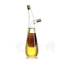 High boron silicon glass sauce pot oil water separator vinegar sauce pot dual pot double oil and vinegar bottle