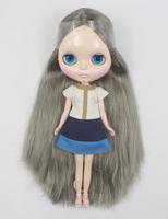 Free Shipping hot sale TB-330  Nude Blythe doll lovely DIY toy birthday gift for girls fashion 4  big eyes dolls beautiful Hair