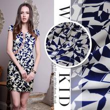 popular printed silk fabric