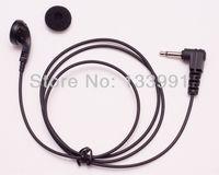 25X Two way radio speaker mic. receive/listen only 3.5mm earphone jack listen only earpiece headphone headset earbud-wholesale