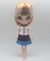 Free Shipping hot sale TB-320  Nude Blythe doll lovely DIY toy birthday gift for girls fashion 4  big eyes dolls beautiful Hair