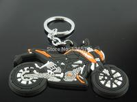 FREE SHIPPING  Motorcross Motorcycle Key Chain Key Ring Fob  For KTM  keychain keyring