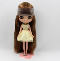 Free Shipping hot sale TB-344  Nude Blythe doll lovely DIY toy birthday gift for girls fashion 4  big eyes dolls beautiful Hair