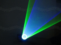 2014 new DIY 445nm Blue + 532nm Green Laser Gloves Vortex Effect Stage llighting Chargeable