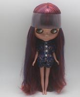Free Shipping hot sale TB-325  Nude Blythe doll lovely DIY toy birthday gift for girls fashion 4  big eyes dolls beautiful Hair