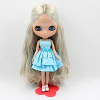 Free Shipping hot sale TB-342  Nude Blythe doll lovely DIY toy birthday gift for girls fashion 4  big eyes dolls beautiful Hair