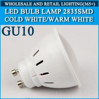 5pcs/lot LED bulb lamp High brightness lights GU10 4W 5W 2835SMD Cold white/warm white AC220V 230V 240V Free shipping