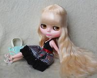 Free Shipping hot sale TB-R78 Nude Blythe doll lovely DIY toy birthday gift for girls fashion 4  big eyes dolls beautiful Hair