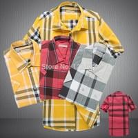freeshipping The new brand  men shirts fashion casual long-sleeved shirt men's high quality spring