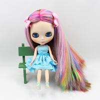 Free Shipping hot sale TB-349  Nude Blythe doll lovely DIY toy birthday gift for girls fashion 4  big eyes dolls beautiful Hair