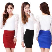 Free Shipping Summer Women's Skirt New Fashion women's clothing Mini Skirt WSK-35-001