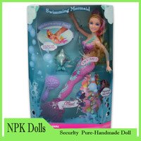 Genuine Original Mermaid Doll Toys For Girls Cheap Beautiful Mermaid Doll Lovely Mermaid, Original Box Free Shipping,