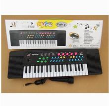 37 chave multi-função de órgão eletrônico brinquedos para crianças Mini teclado instrumentos musicais grátis frete(China (Mainland))
