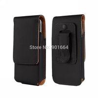 Leather Slim Sleeve case Hip Universal Holster Belt For Samsung Galaxy S4 Mini I9190 S3 Mini i8190 Clip Plain Pouch 1pcs/lot