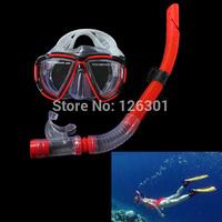 Fishing Swimming Diving Equipment Dive Mask + Dry Snorkel Set