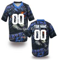 2014 New Fashion Custom Carolina Team American Football Jersey for Men Women Youth Fashion Brand Design Top  Quality