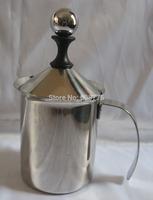 400ML Stainless Steel Double Mesh Milk Foamer Milk Creamer