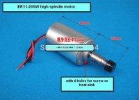 cnc spindle 200w Spindle motor  air-cooling spindle 200w new DC motor for CNC Engraving Machine  ER11 3.175mm collets EN612