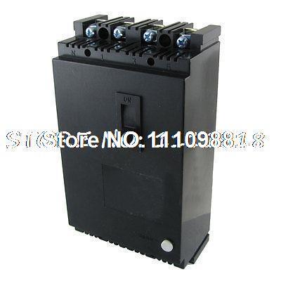 Ac 380 V 100 Amp 4 pólos 4 P RCCB atual operado Residual disjuntor(China (Mainland))