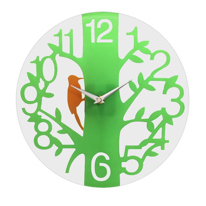 Barnes & Noble may be circular transparent clock mute IKEA decorative clocks modern garden style clock CM4002(China (Mainland))