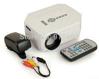 UC30 Mini 1080P HD Multimedia LED Projector Home Cinema Video Support AV TV VGA HDMI Free Shipping & Wholesale