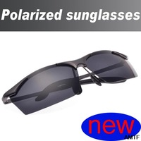 men real seconds kill adult rimless alloy black sunglasses 2014 polarized night driving glasses cycling a188 free shipping