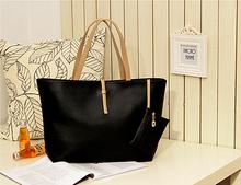 deux- pièce en cuir sacs à main noir vintage femmes hotsale sac de moto partie dames sac à main célèbres sacs à bandoulière designer(China (Mainland))