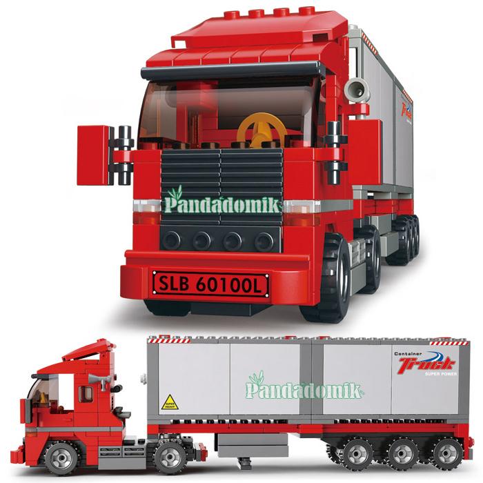 Lego Crane Truck Lego 345 Pcs City Truck