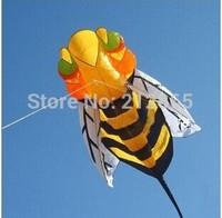 Free Shipping!! 4m Bee soft Kite children kite outdoor toys power kite ,Power kite/Sport kite /Stunt kite